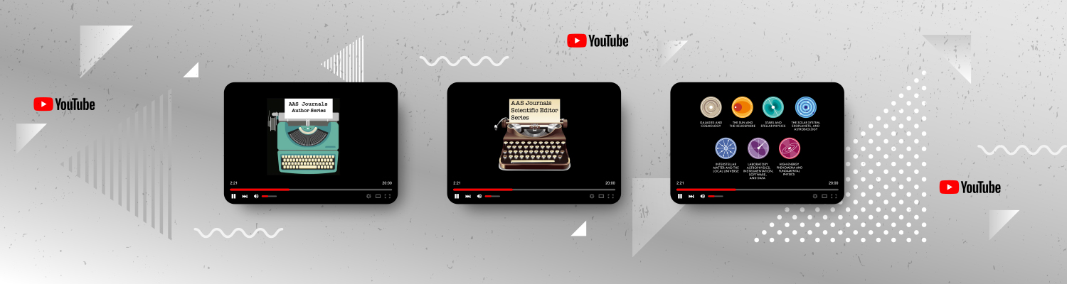 AAS Journals YouTube Series